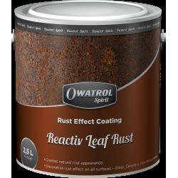 OWATROL REACTIV LEAF RUST - Povlak pro vytvoření rzi na všech typech povrchů