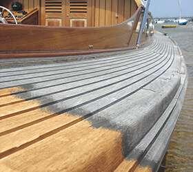 Čištění a odšedění dřeva