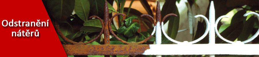 Odstranění nátěrů z kovu